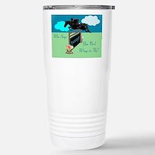 Fun Grand Prix Horse Jumper Travel Mug