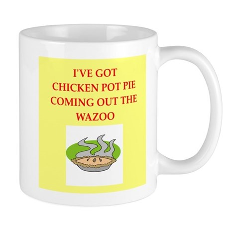 chicken pot pie Mug