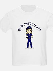 Light Police Woman T-Shirt