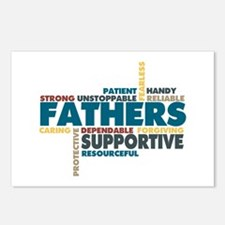 Fathers Postcards (Package of 8)