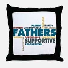 Fathers Throw Pillow