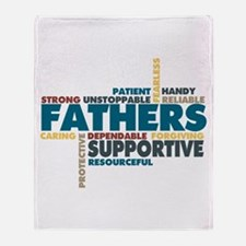 Fathers Throw Blanket