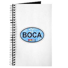 Boca Raton - Oval Design. Journal