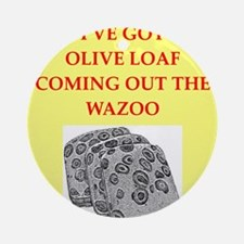 olive loaf Ornament (Round)