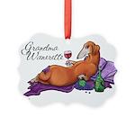 Grandma Wienerette Ornament