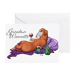 Grandma Wienerette Greeting Cards (Pk of 20)