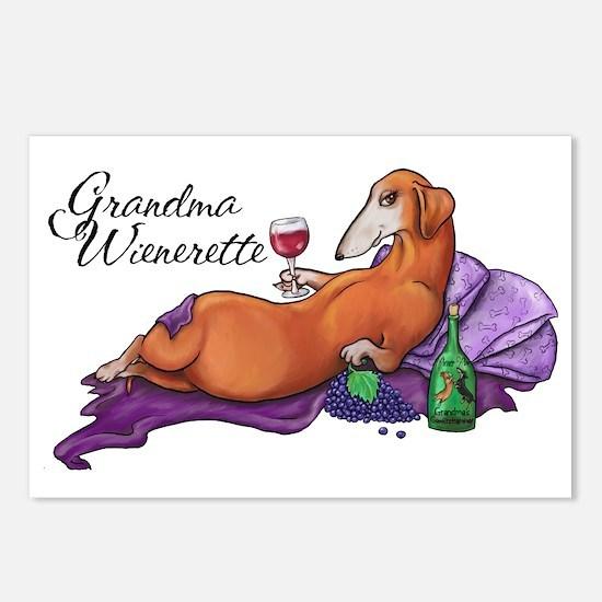Grandma Wienerette Postcards (Package of 8)