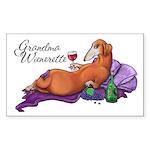 Grandma Wienerette Sticker