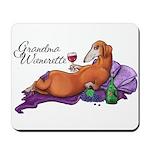 Grandma Wienerette Mousepad