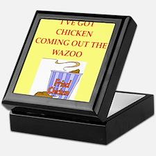 chicken Keepsake Box