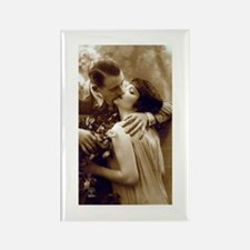 Romantic Kiss Rectangle Magnet (10 pack)