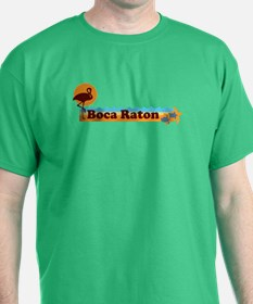 Boca Raton - Beach Design. T-Shirt