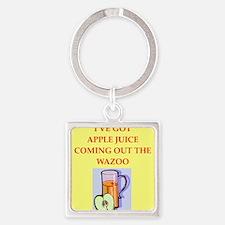 apple juice Keychains