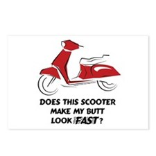 Fast Butt (Red) Postcards (Package of 8)