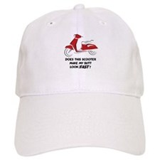 Fast Butt (Red) Baseball Cap