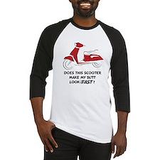Fast Butt (Red) Baseball Jersey