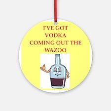 vodka Ornament (Round)