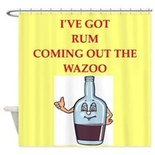 rum Shower Curtain