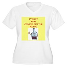 rum Plus Size T-Shirt