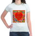 I Love A Complicated Woman! Jr. Ringer T-Shirt