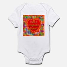 I Love A Complicated Woman! Infant Bodysuit