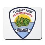 Pleasant Point Police Mousepad