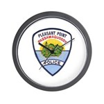 Pleasant Point Police Wall Clock