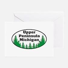 Upper Peninsula Greeting Cards (Pk of 10)