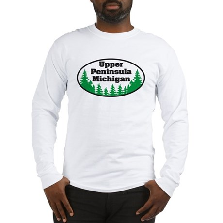 Upper Peninsula Long Sleeve T-Shirt