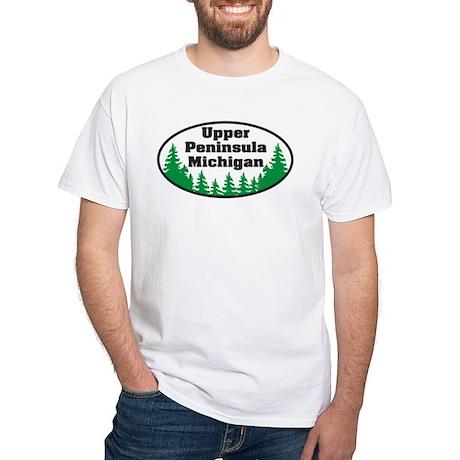 Upper Peninsula White T-Shirt