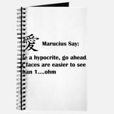 Marucius Say: Hypocrites have two faces Journal