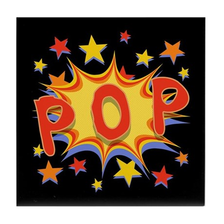 Pop! Tile Coaster