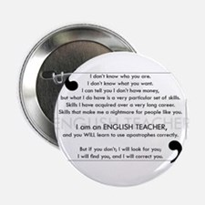 "I Will Find You - Apostrophes 2.25"" Button"
