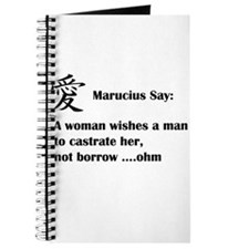 Marucius Say: A womans wish Journal