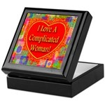 I Love A Complicated Woman! Keepsake Box