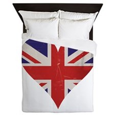 UK Heart Queen Duvet