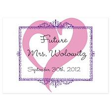 Future Mrs Invitations