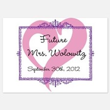 Future Mrs Invitations