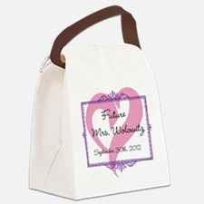 Future Mrs Canvas Lunch Bag