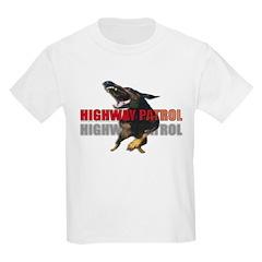 HIGHWAY PATROL Kids T-Shirt