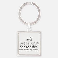 dos-boobies-com-gray Keychains