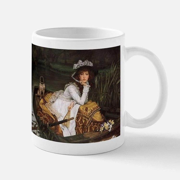 Lady in a Boat Mug