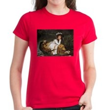 Lady in a Boat Tee