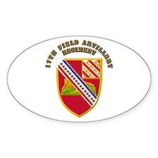 Artillery - 17th Field Artillery Regiment Decal