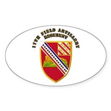 Artillery - 17th Field Artillery Regiment Decal