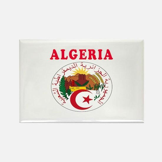 Algeria Coat Of Arms Designs Rectangle Magnet