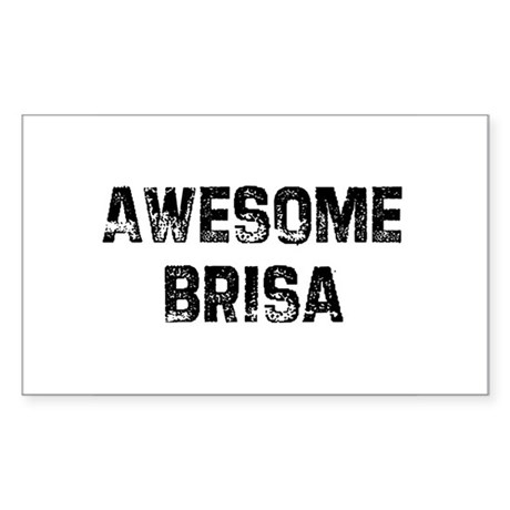 Awesome Brisa Rectangle Sticker