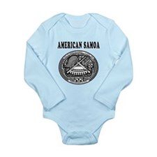 American Samoa Coat Of Arms Designs Long Sleeve In
