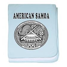 American Samoa Coat Of Arms Designs baby blanket