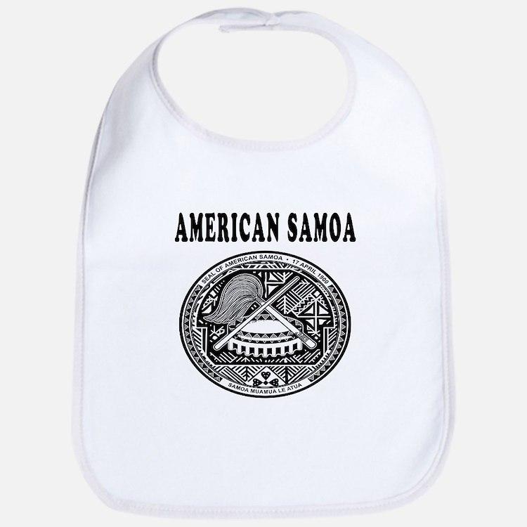 American Samoa Coat Of Arms Designs Bib